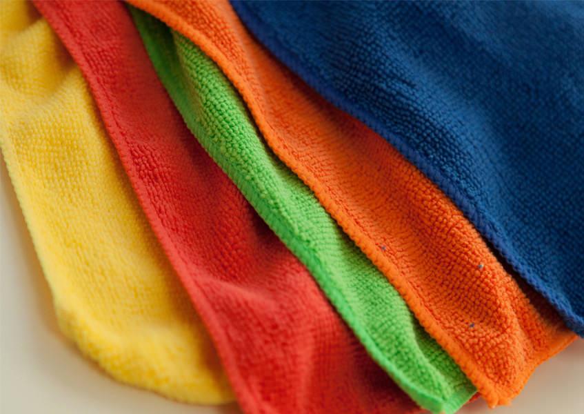 Textiles d'entretien