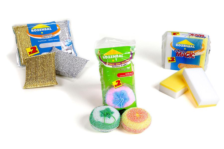 Eponges tampons Rozenbal