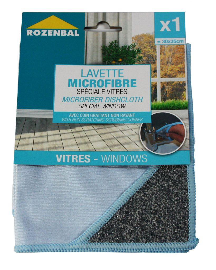 lavette microfibre spéciales vitres