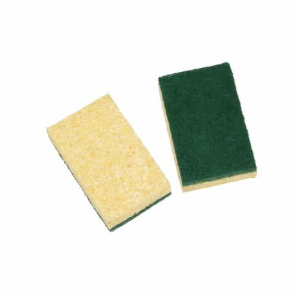 2 tampons sur éponge cellulose