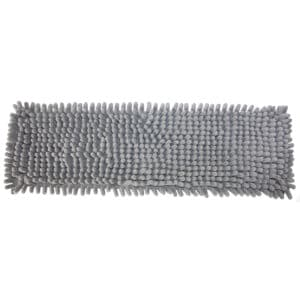 Housse microfibre chenille grise pour balai multi-usages